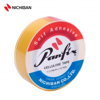 Nichiban Panfix Cellulose Tape - 12MM x 10YDS
