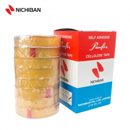 Nichiban Panfix Cellulose Tape - 19MM x 36YDS