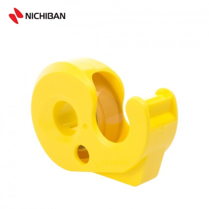 Nichiban Panfix Tape Dispenser (Yellow)