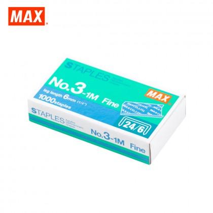 MAX No.3-1M Staples (Stapler Bullet)