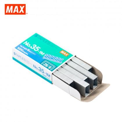 MAX No.35-1M Staples (Stapler Bullet)
