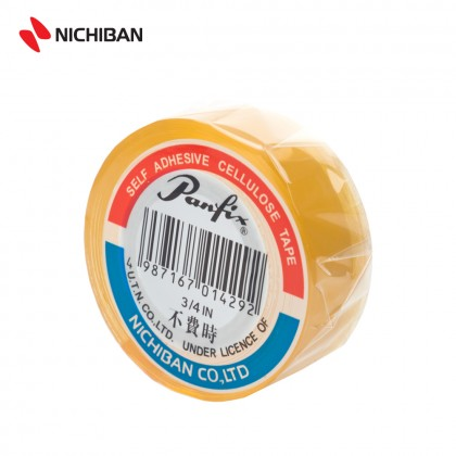 Nichiban Panfix Cellulose Tape - 19MM x 25YDS (8PCS)
