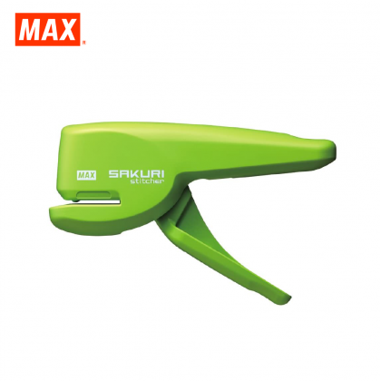 MAX HPS-5 Stapleless Stapler (SAKURI STITCHER) (LIGHT GREEN)