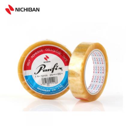 Nichiban Panfix Cellulose Tape - 25MM x 72YDS