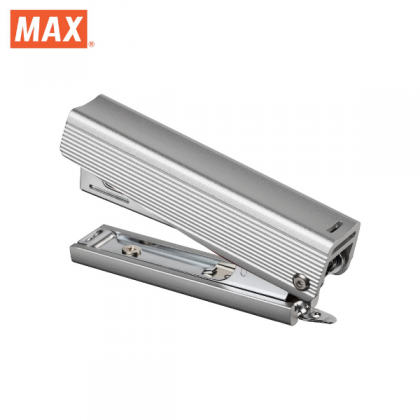 Max Special Edition All Metal Aluminium Stapler (Silver)