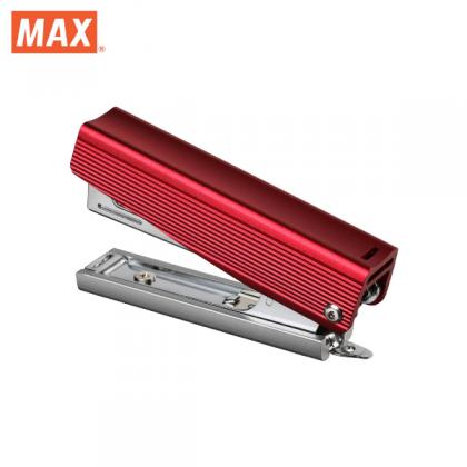 Max Special Edition All Metal Aluminium Stapler (Red)