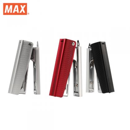 Max Special Edition All Metal Aluminium Stapler (Black)