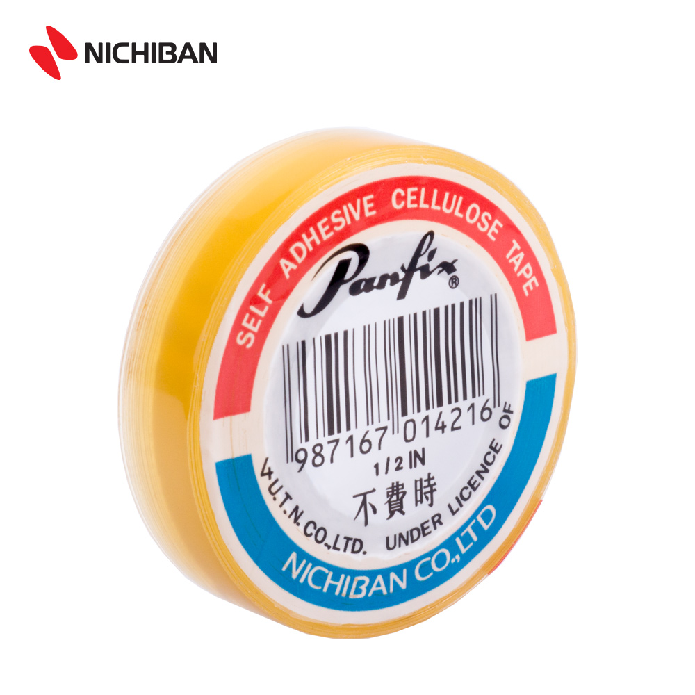 Nichiban Panfix Cellulose Tape - 12MM x 25YDS