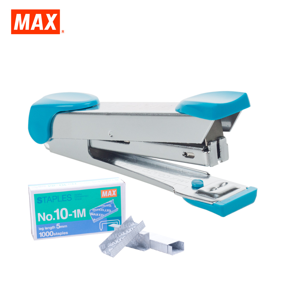 MAX HD-10K Stapler (SKY BLUE)