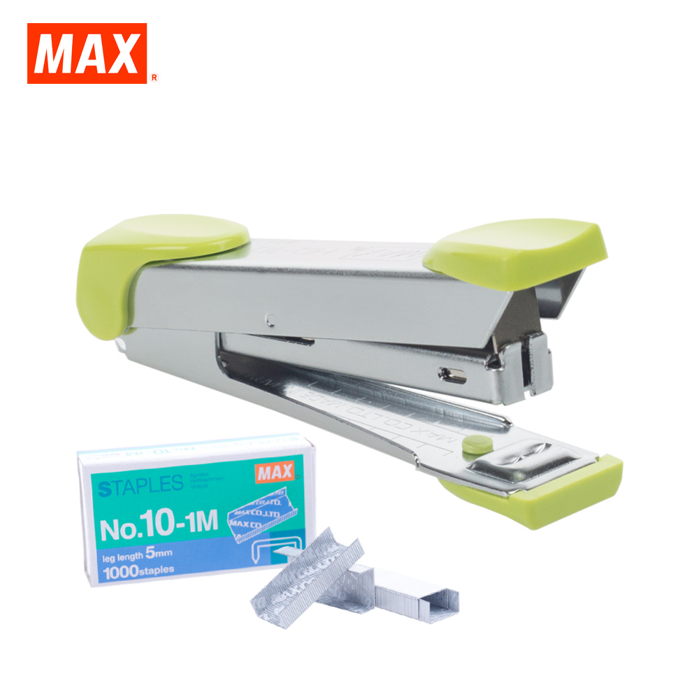 MAX HD-10K Stapler (LIGHT GREEN)