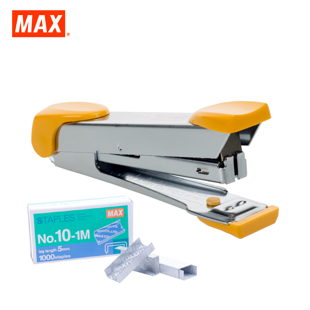 MAX HD-10K Stapler (ROYAL YELLOW)