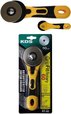 KDS RT-60 GripFit Rotary Cutter